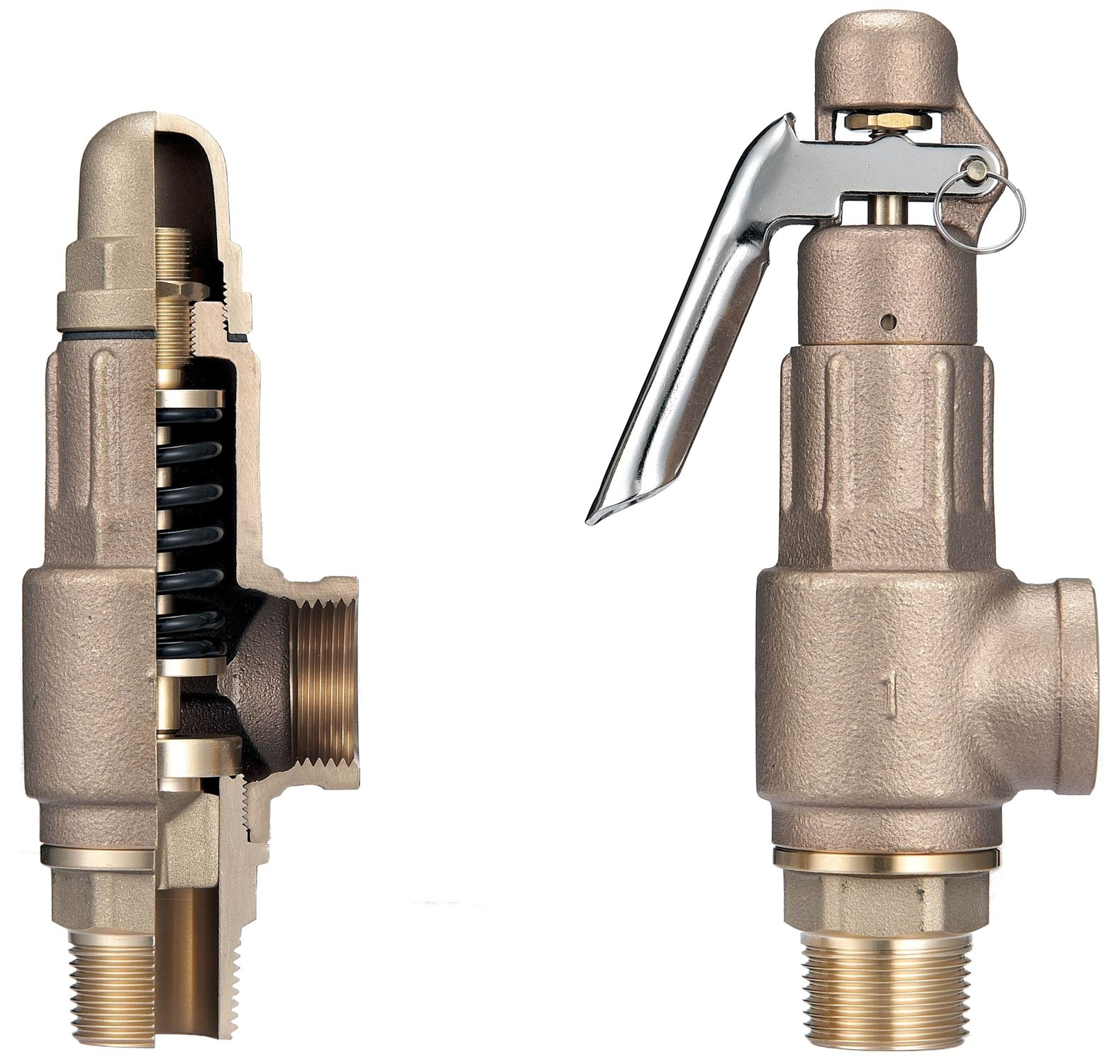 Pressure Security Valve Technical Valve Progetto Ltd