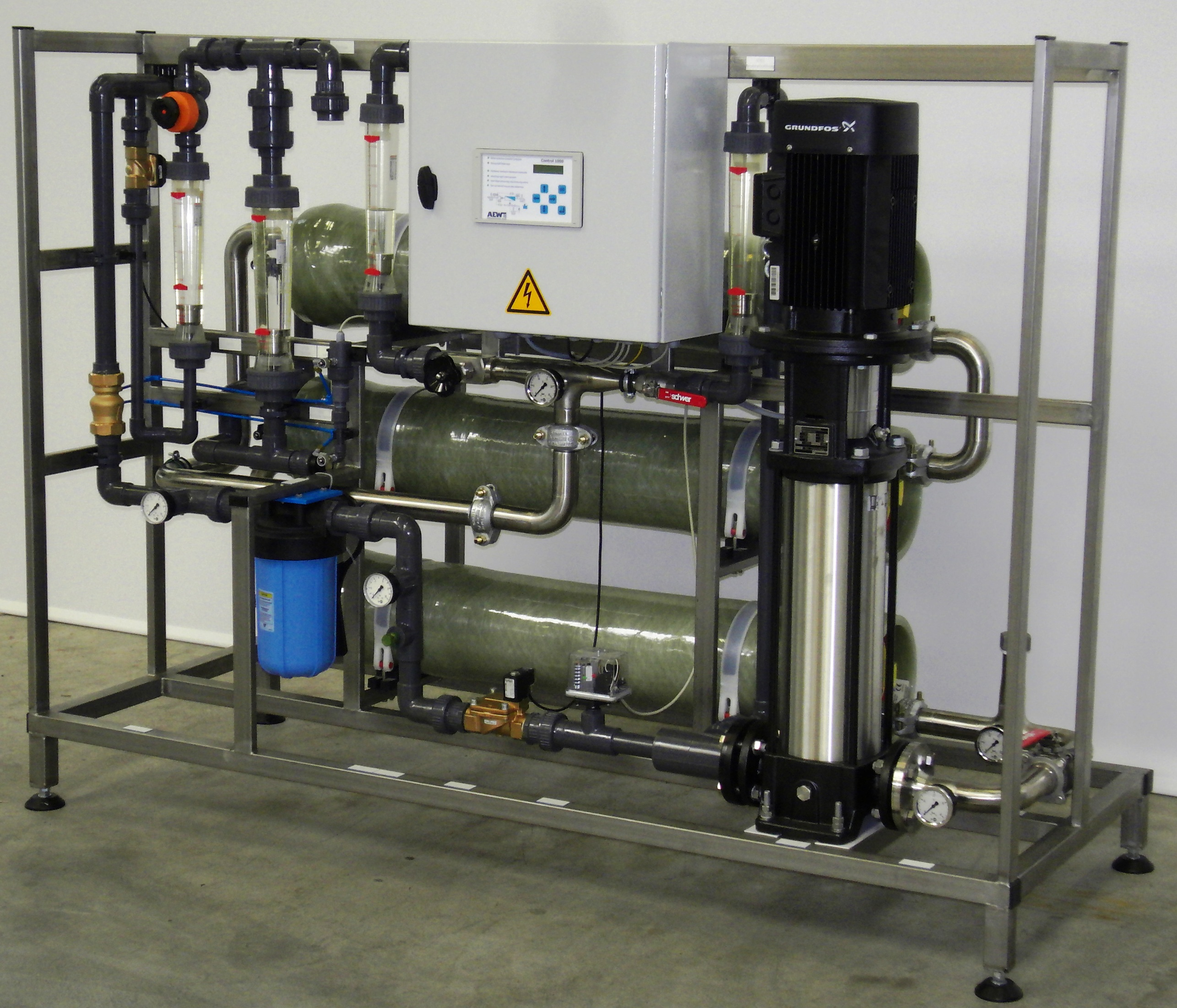 osmosis  Technical, Water Treatment, Osmosis SYSTEM - Progetto ltd